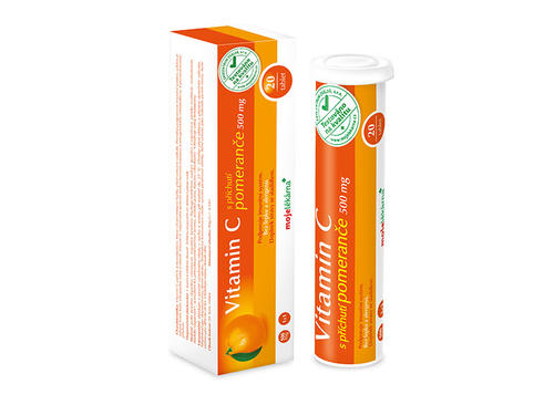Vitamin C 1000mg pomeranč eff tbl 20
