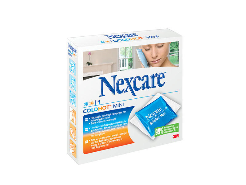 Nexcare ColdHot Mini 10x10cm Galmed
