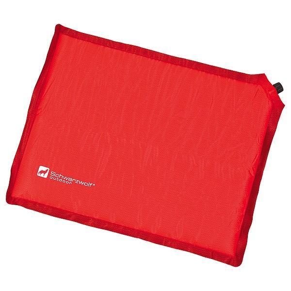 SCHWARZWOLF REST samonafukovací polštář, červená