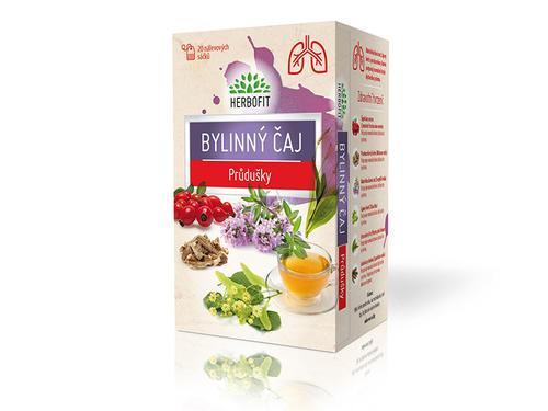 Herbofit Čaj bylinný průduškový 20x1,5g
