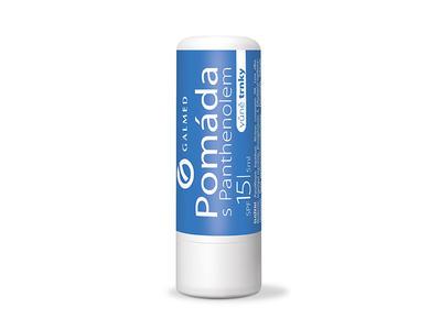 Pomáda na rty s Panthenol s vůní trnky SPF 15 5ml