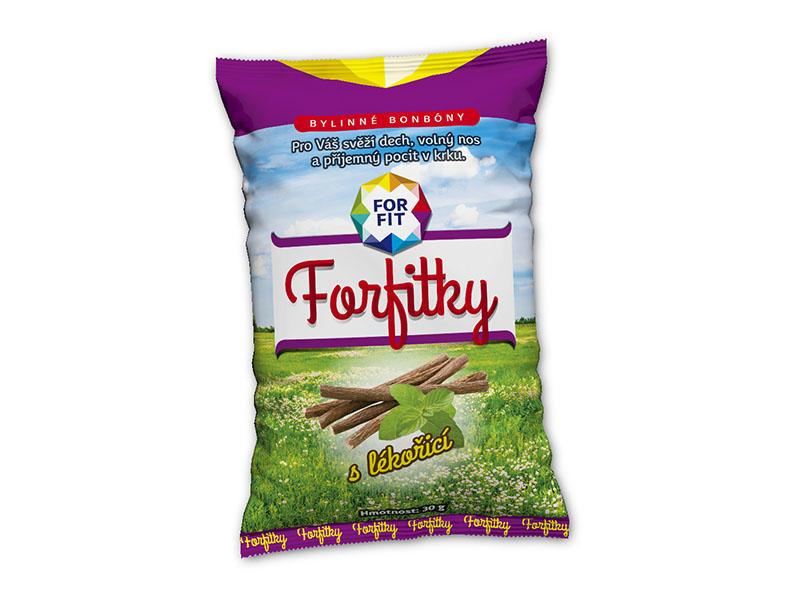 ForFit Forfitky s lékořicí 30g