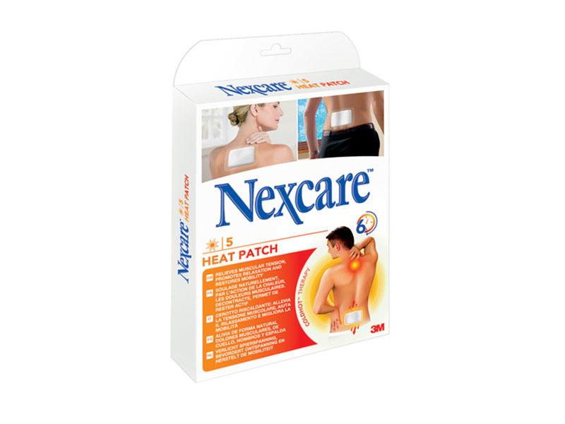 Nexcare hřejivá náplast 5 ks