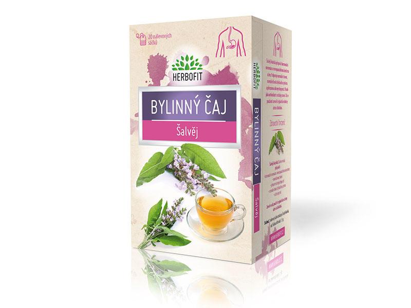 Herbofit bylinný čaj šalvěj 20x1,5g