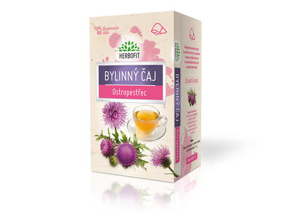 Herbofit bylinný čaj ostropestřec 20x1,5g