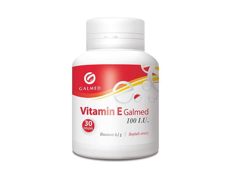 Vitamin E 100mg Galmed tob 30