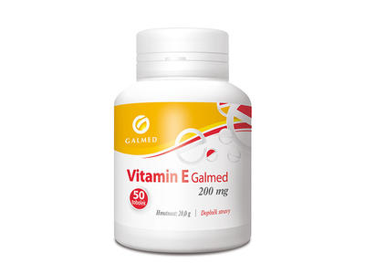 Vitamin E 200mg Galmed tob 50